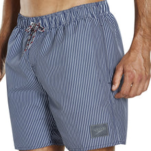 Load image into Gallery viewer, SPEEDO MENS CHECKED SHORT - WHITE/NAVY