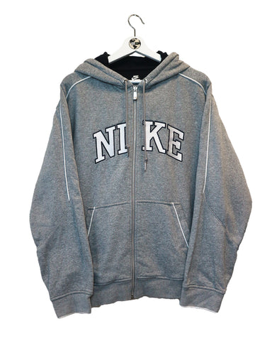Nike Zip Up Hoody L-Sweater-Thrift On Store