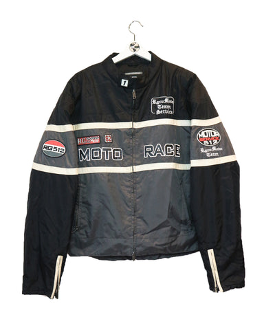 Vintage racing jacket XL-Coats & Jackets-Thrift On Store