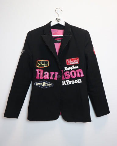 Harrison racing blazer M-Coats & Jackets-Thrift On Store