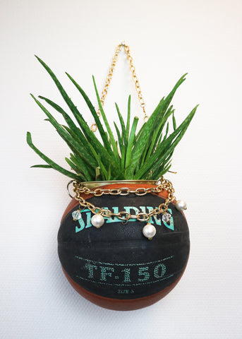 Reworked Basketball Planter SAMPLE