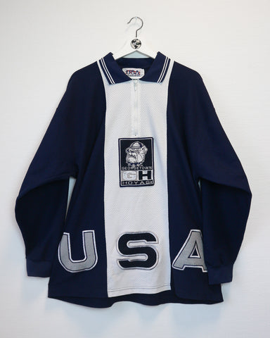 Hoyas sweater jersey polo XL