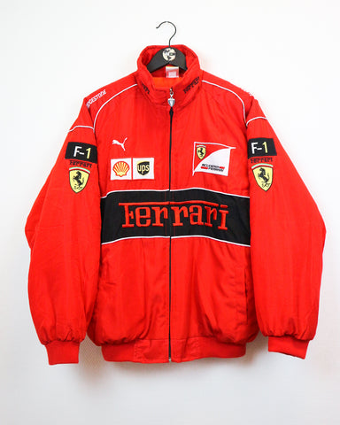 Ferrari Jacket XL-Coats & Jackets-Thrift On Store
