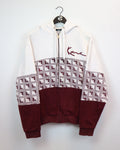 Karl Kani Zip Up M-Sweater-Thrift On Store
