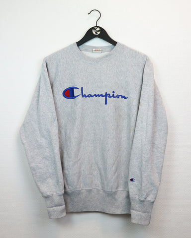 Champion Sweater M-Sweater-Thrift On Store