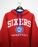 NBA Unk Sixers Hoody M-Sweater-Thrift On Store