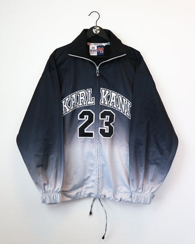 Karl Kani Zip Up L-Sweater-Thrift On Store