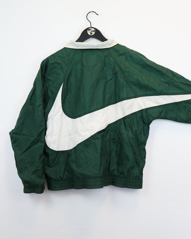 RARE Nike Big Swoosh Windbreaker XS