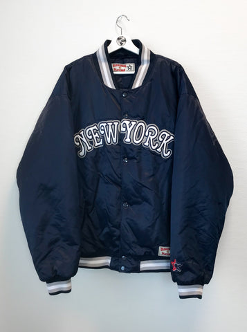 Varsity Bomber Jacket XL-Coats & Jackets-Thrift On Store