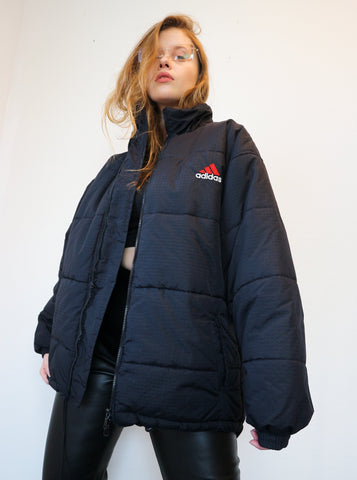Adidas Puffer L-Coats & Jackets-Thrift On Store