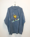 Looney Tunes Tweety Jumper XL-Sweater-Thrift On Store