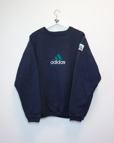 RARE Adidas Equipment Sweater L-Sweater-Thrift On Store