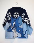 Tom & Jerry RARE jumper L-Sweater-Thrift On Store