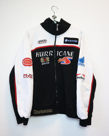 Racing Zip Up XL-Sweater-Thrift On Store