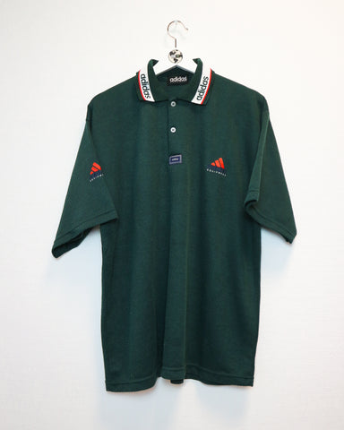 Adidas Equipment Polo XL-T-shirt-Thrift On Store