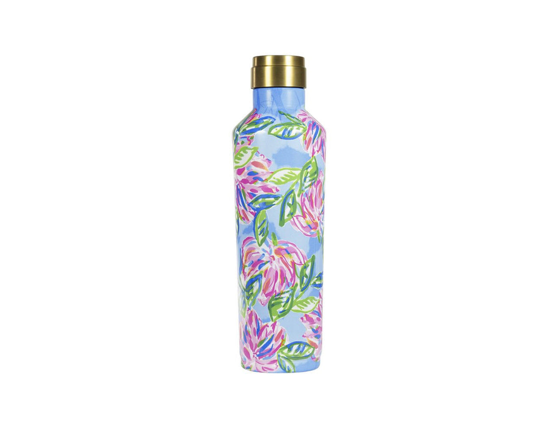 Lilly Totally Blossom 25 Oz Canteen