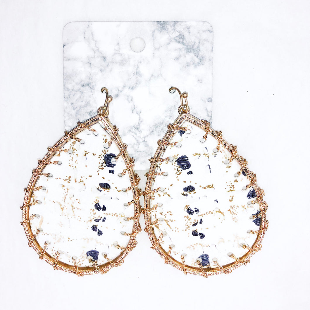 Cow Country Earrings