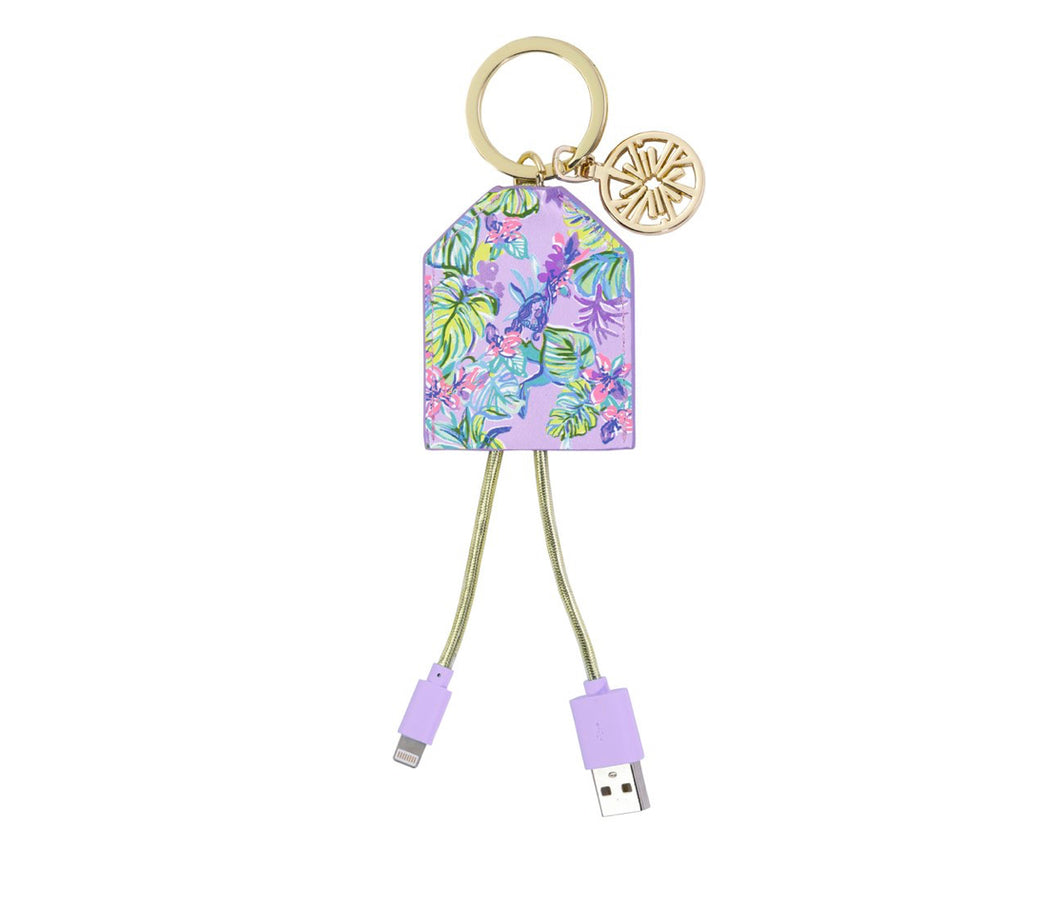 Lilly Mermaid In The Shade Charging Key Chain