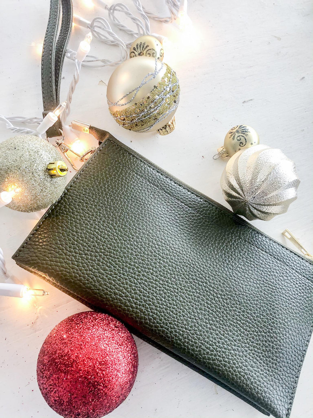 Olive Wristlet/Cross Body