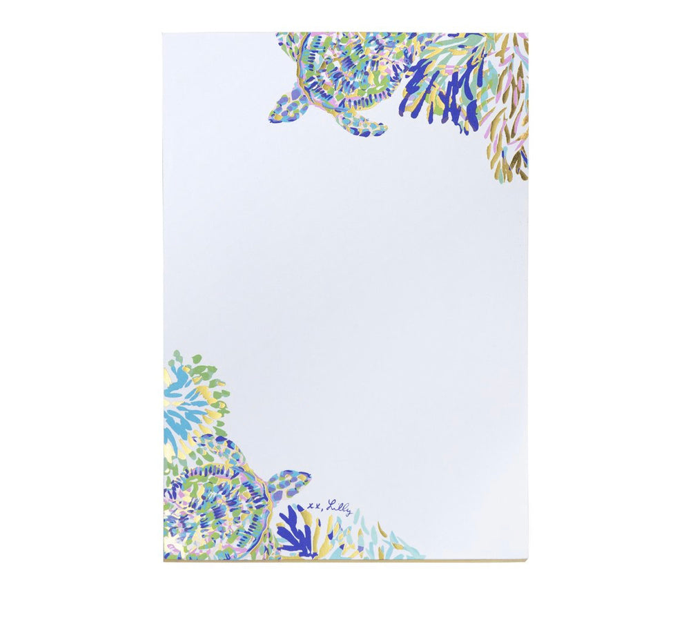 Lilly Shell Of A Party Notepad
