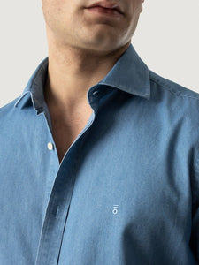 PUROEGO LIGHT DENIM SHIRT
