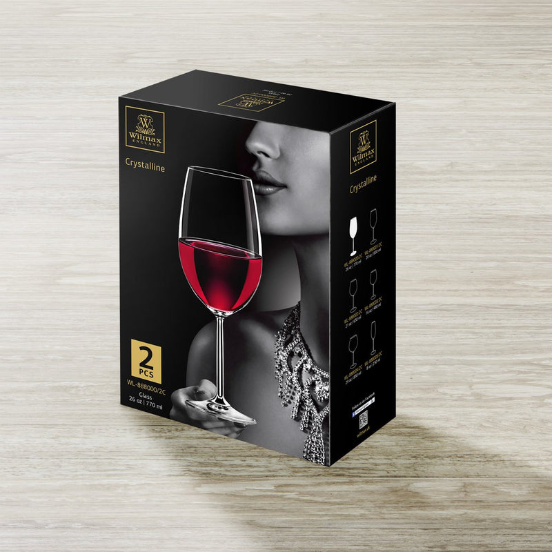 Wilmax Wine Glass 2 Pack 770ml
