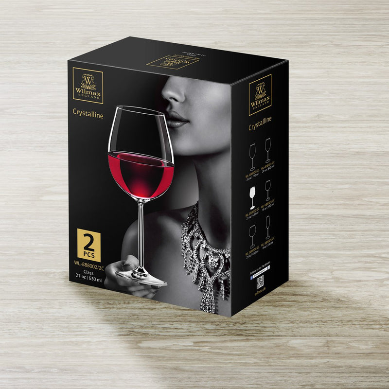 Wilmax Wine Glass 2 Pack 630ml