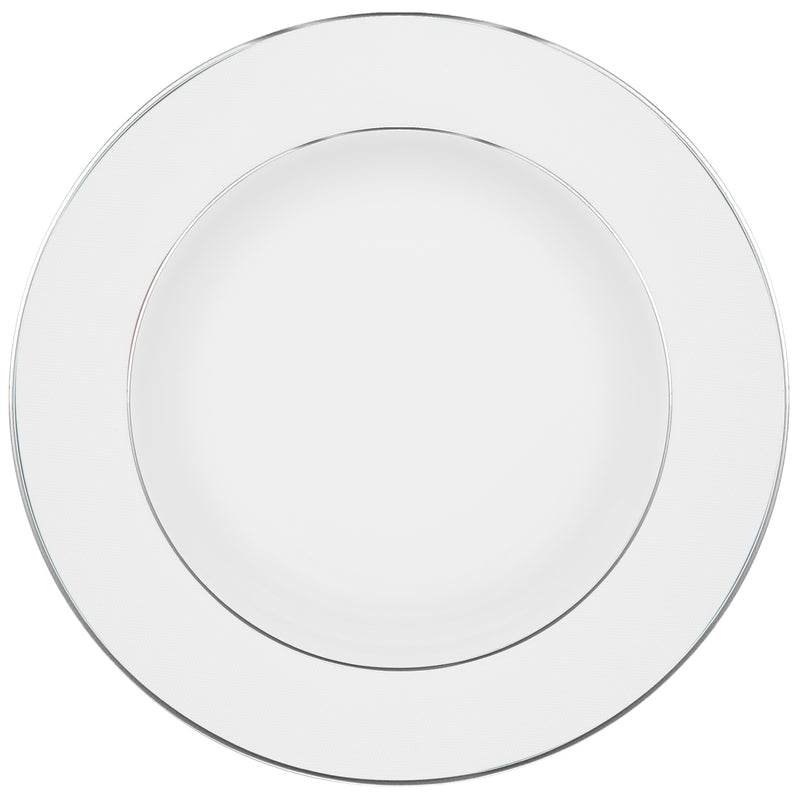 Oxford Dinner Plate Porcelain Black/White
