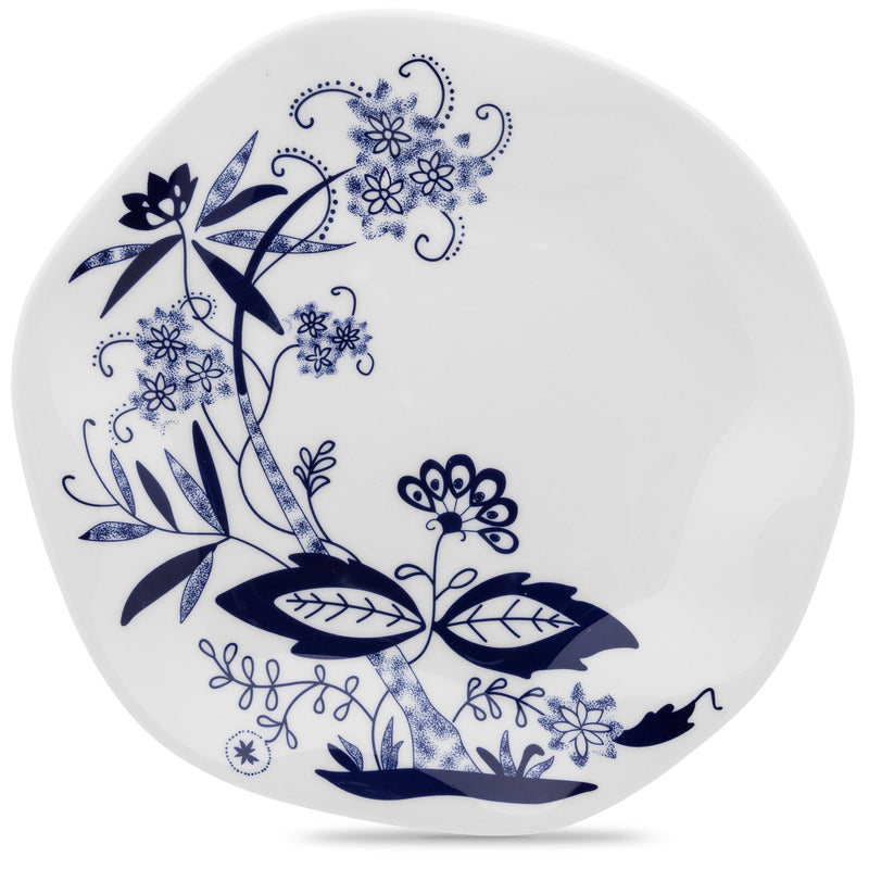 Oxford Dinner Plate Porcelain with Pattern