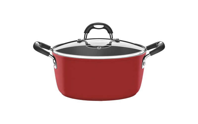 Monaco Casserole with Lid Red Small