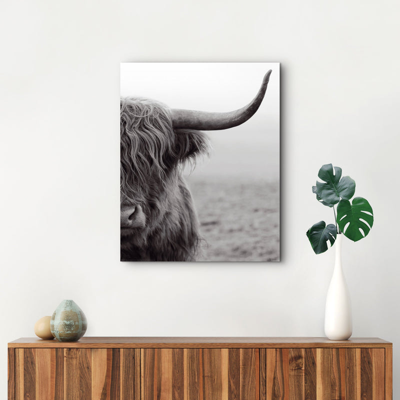 Highlander Wall Art Deco Panel