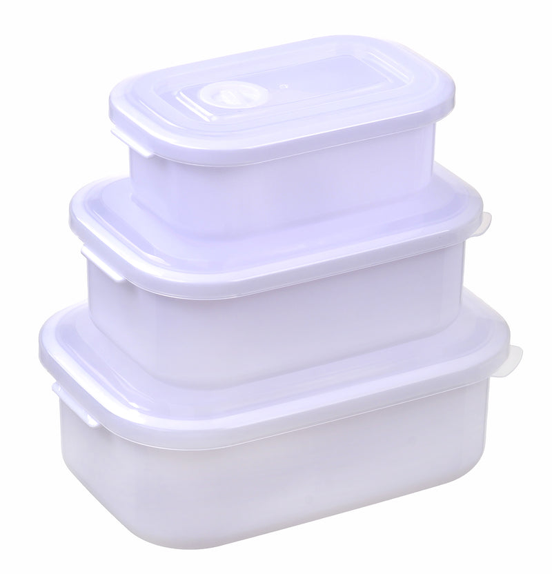 Nested Vented Food Storage Container 3pc