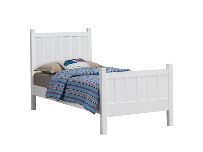 Cove Bed Single Timber/MDF/LVL White