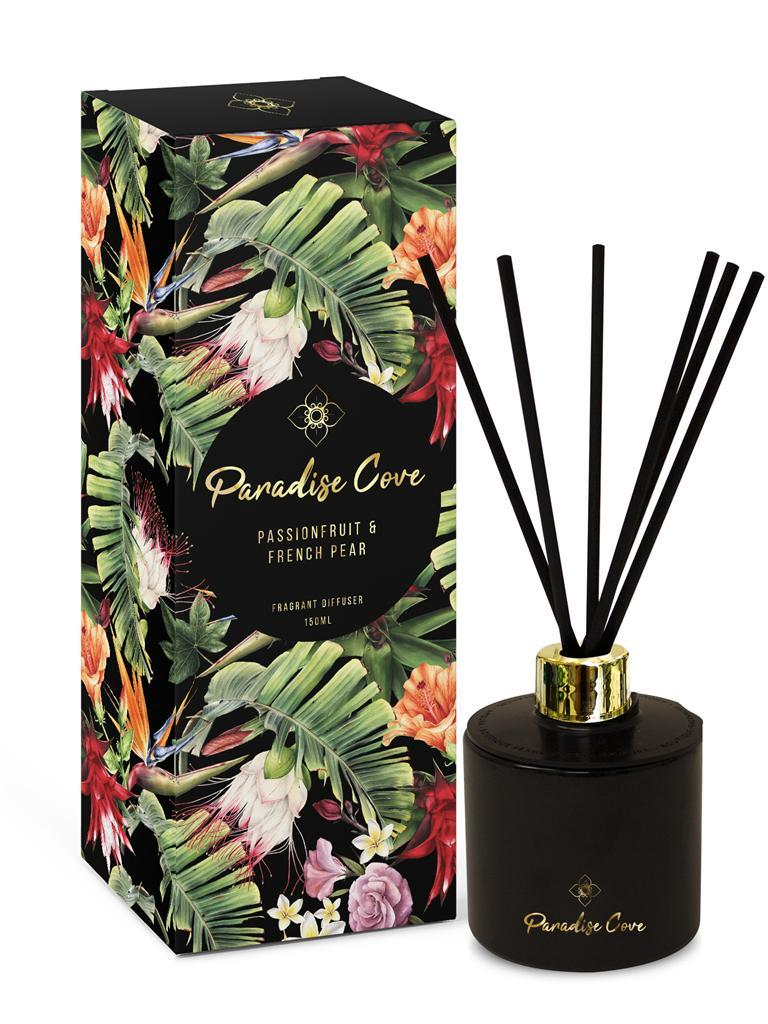 150Ml Paradise Cove Diffuser - Passionfruit & French Pear.