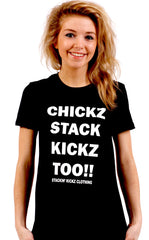 CHICKZ STACK KICKZ TOO