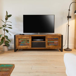 Shoreditch Widescreen Television Cabinet - The Orchard Home and Gifts