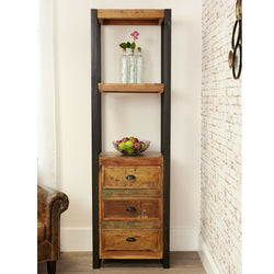 Shoreditch Alcove Bookcase With Drawers - The Orchard Home and Gifts