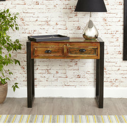 Shoreditch Two Drawer Console Table - The Orchard Home and Gifts