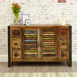 Shoreditch Six Drawer Sideboard - The Orchard Home and Gifts