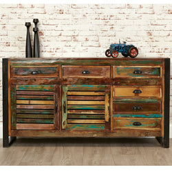 Shoreditch Large Six Drawer Sideboard - The Orchard Home and Gifts