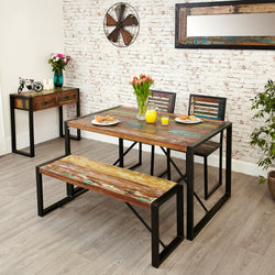 Shoreditch Dining Bench Small - The Orchard Home and Gifts