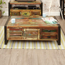 Shoreditch Storage Coffee Table With Drawers - The Orchard Home and Gifts