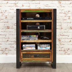 Shoreditch Media Storage Shelving Unit - The Orchard Home and Gifts