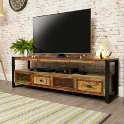 Shoreditch Widescreen TV Media Unit - The Orchard Home and Gifts