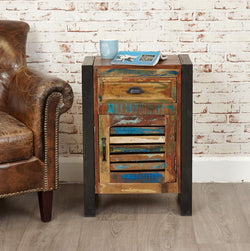 Shoreditch One Drawer Cupboard Side Table - The Orchard Home and Gifts