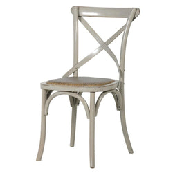 Hampshire Elm Wood X-back Dining Chair
