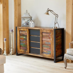 Shoreditch Four Drawer Sideboard - The Orchard Home and Gifts