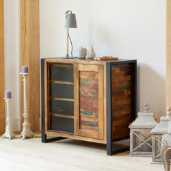 Shoreditch Storage Cupboard With Drawers - The Orchard Home and Gifts