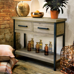 Pendlebury Two Drawer Console Table