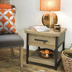 Pendlebury One Drawer Side Table
